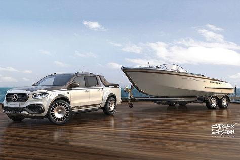 Mercedes X-Klasse Tuning: Carlex Design EXY Yachting