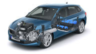 Skoda Scala G-Tec (2019): Erdgas-Motor
