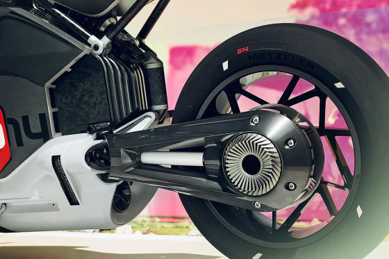 BMW Vision DC Roadster: Elektro-Motorrad