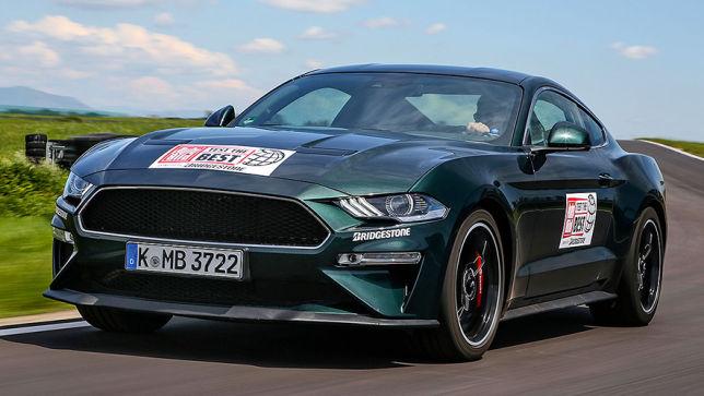 Ford Mustang Bullitt 2019 Muscle Car Test Motor Sportwagen