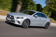 Mercedes A-Klasse Plug-in-Hybrid (2019): Mitfahrt, Test, Reichweite
