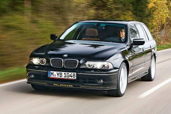 Drei Generationen BMW Alpina 5er
