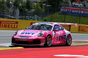 Porsche Supercup: Andlauer siegt