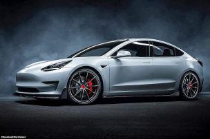 Vorsteiner-Bodykit für Tesla Model 3