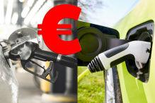 Montage Kostenvergleich Verbrenner/E-Auto