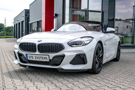 BMW Z4sDrive30i Tuning: DTE Software-Update