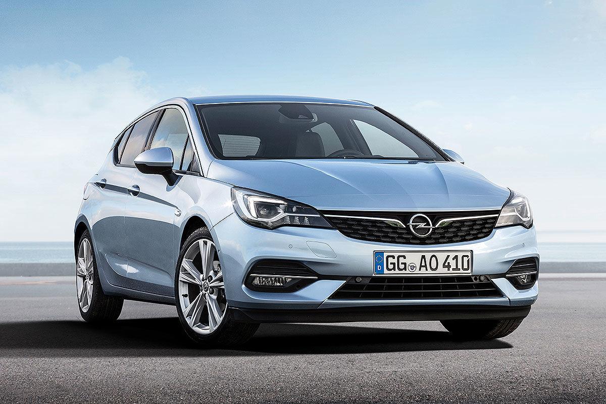 Opel Astra Facelift (2019)