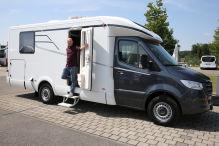 Neue Reisemobile auf Sprinter-Basis