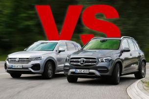Mercedes GLE vs. VW Touareg