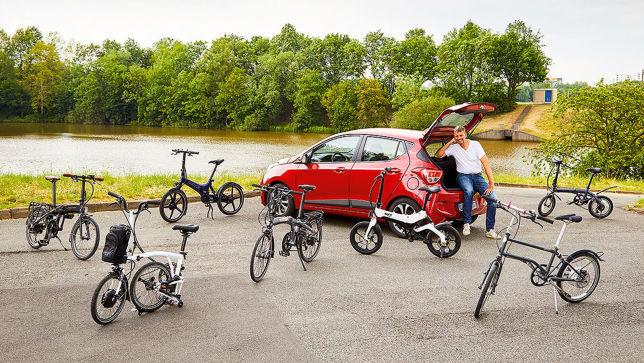 Faltbarre E-Bikes im Test