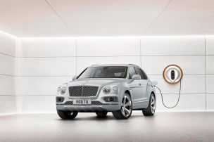 Der Kurzstrecken-Hybrid-Bentley