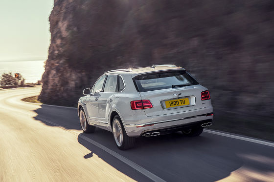Bentley Bentayga Plug-in-Hybrid