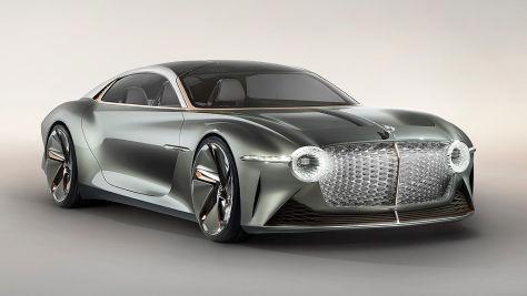 Bentley EXP 100 GT: Elektro-Studie