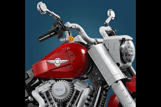 Harley-Davidson Fat Boy: Lego-Modell
