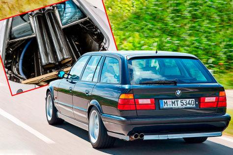 BMW M5 Touring E34: V12, Motor, McLaren F1
