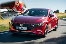Mazda3 Skyactiv-X (2019): Test, Fahren, Motor
