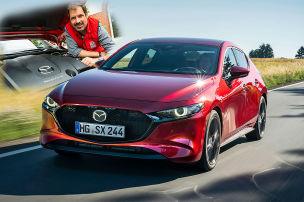 Erste Fahrt in Mazdas Otto-Selbstzünder
