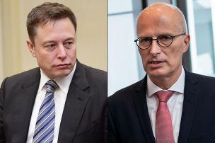 Musk beschwert sich beim Bürgermeister