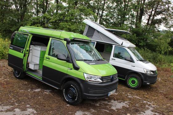 Die interessantesten T6-Camper