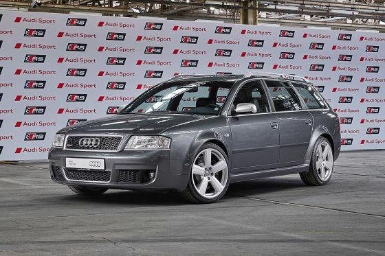 Audi feiert 25 Jahre RS-Modelle