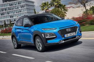 Hyundai Kona Hybrid ab sofort bestellbar