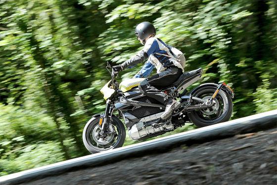 Harley-Davidson LiveWire: E-Motorrad im Test