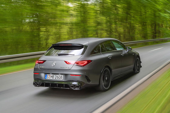 Alle Infos zum CLA 45 Shooting Brake