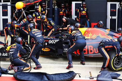 Boxenstopp Formel 1
