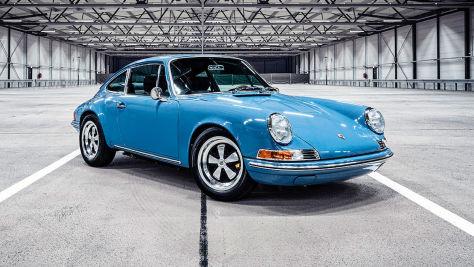 Porsche 911 mit E-Antrieb
