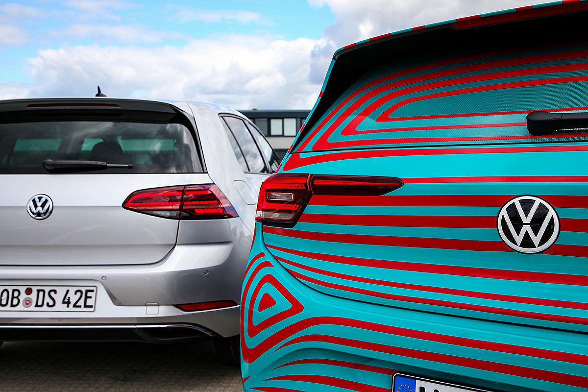 VW ID.3 vs. e-Golf