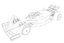 Formel 1: Zeichnungen für 2021