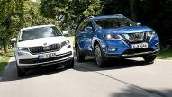 Nissan X-Trail, Skoda Kodiaq: SUV-Test