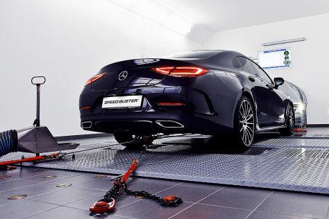 Mercedes CLS 400d Tuning: Speed Buster Leistungsplus
