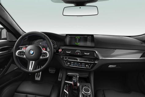 Bmw 5er Mini Facelift G30 2019 Cockpit Update G31 F90 Autobild De