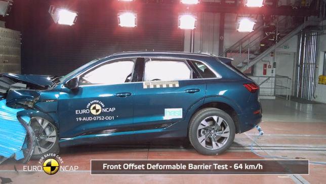 Audi e-Tron Chrashtest