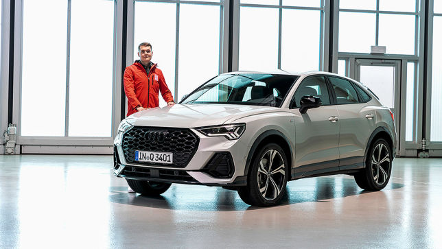 Sitzprobe im neuen Audi Q3 Sportback!