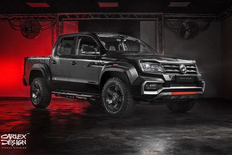 VW Amarok Tuning: Pickup Design
