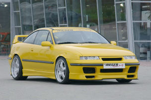 Opel Calibra Tuning: Rieger