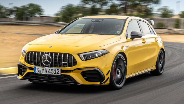 Mercedes Amg A 45 S 2019 Preis Ps 4matic Motor Test