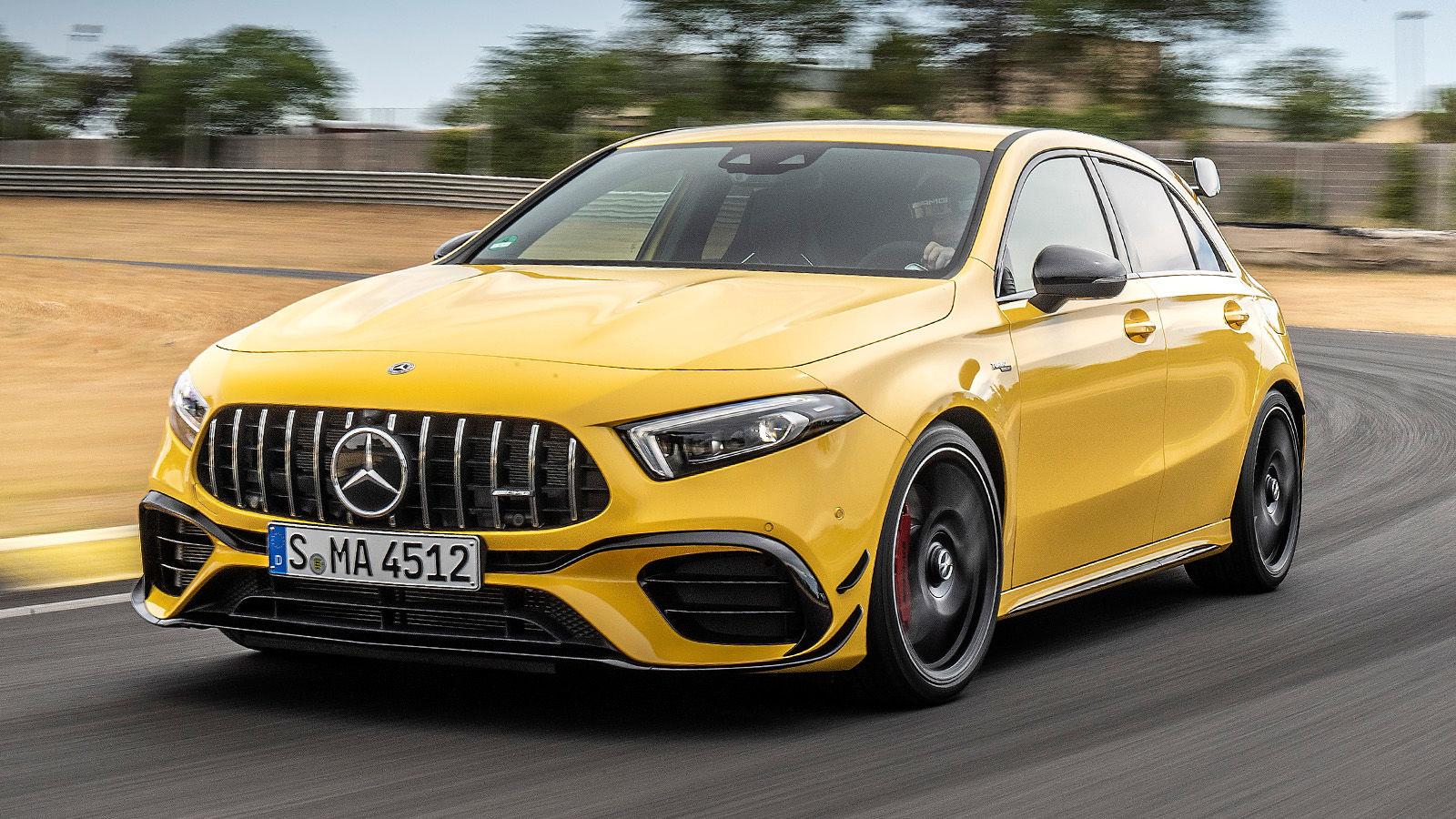 Mercedes-AMG A 45 S (2019): Test - Motor - Infos - AUTO BILD