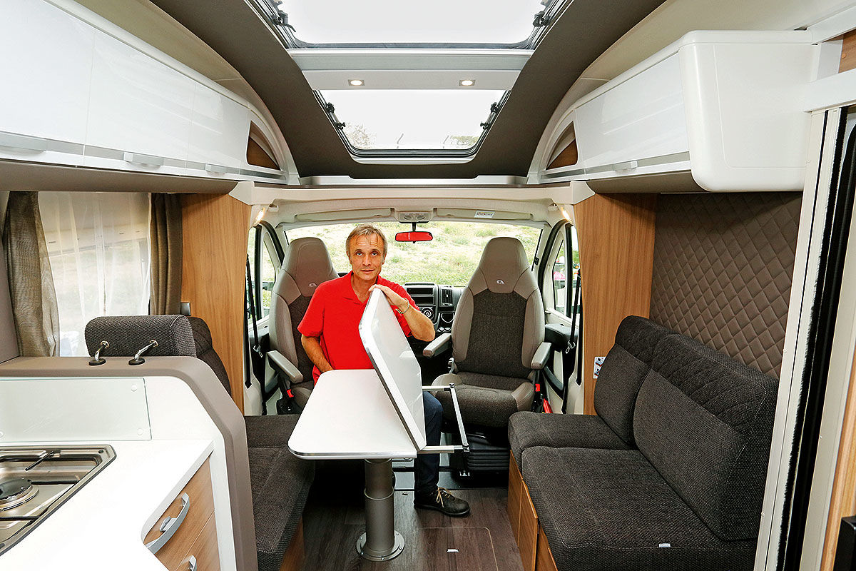 Wohnmobil-Test Adria Coral Plus 670 DL