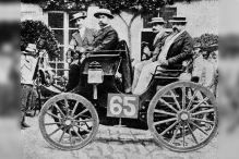 Formel 1: erstes Autorennen