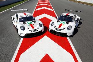 Porsche 911 RSR GTE: WEC-Tests