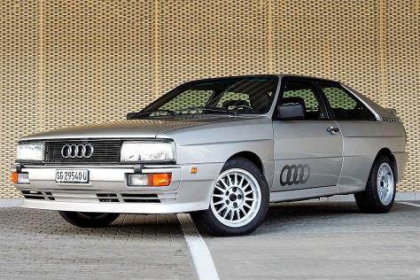 Originaler Audi quattro Turbo zu verkaufen