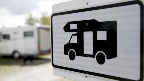 Parken mit dem Wohnmobil