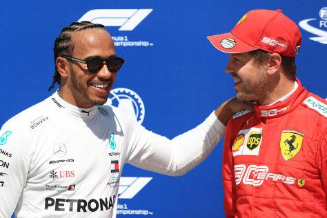 Formel 1: Hamilton versus Vettel: Wolff nimmt Vettel in