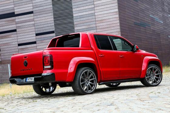 VW Amarok Red Rok