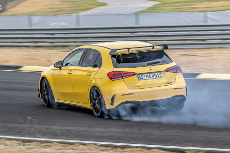 Mercedes-AMG A 45 S (2019): Driftmodus, PS, Motor