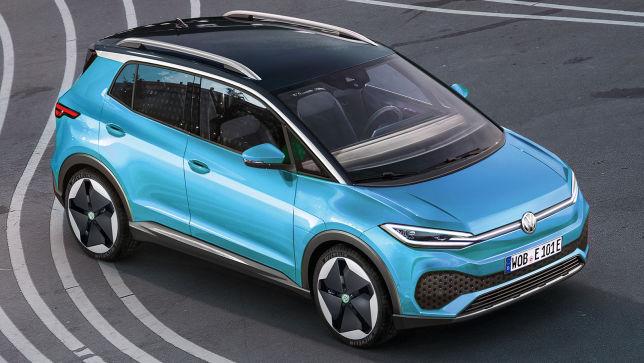 VW ID.2 X (2020): Elektro-SUV - Allrad - Skizze - Insider ...