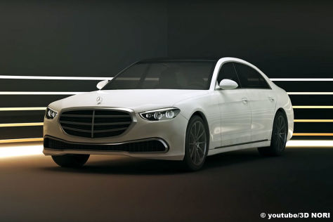 Mercedes S-Klasse (2020): Rendering, Video